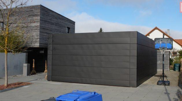 Wohnaus-mit neuer Fassade
